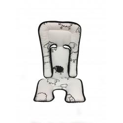 A800173 Универсальный вкладыш-матрасик  Хлопок 100% / Овечки