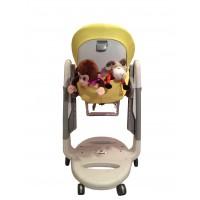 T110 Карман Capina для игрушек для стульчика Peg Perego Tatamia / желтый