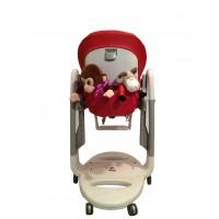 T181 Карман Capina для игрушек для стульчика Peg Perego Tatamia / красный