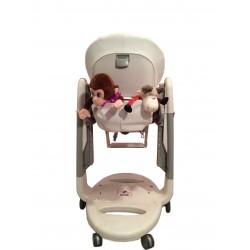T130 Карман Capina для игрушек для стульчика Peg Perego Tatamia / белый