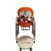 T129 Карман Capina для игрушек для стульчика Peg Perego Tatamia / апельсиновый