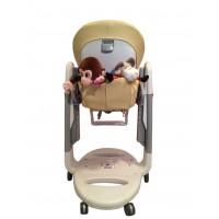 T116 Карман Capina для игрушек для стульчика Peg Perego Tatamia / бежево-песочный