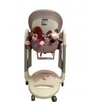 T121 Карман Capina для игрушек для стульчика Peg Perego Tatamia / светло-сиреневый